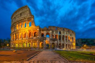 The Flavian Amphitheatre (The Roman Colosseum)