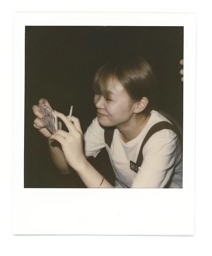 型到爆的花. #Polaroid #slr680 #cafe #cafeshop #coffeeshop  #signlesscafe #girl #friends #friend #signless #filmphotography #lady  #filmphotographic #cafe #cafeshop #coffeeshop #meaninglessart #canton #citylife #city #life #impossible #廣州 #広州 #寶麗來 #無謂藝術 #無牌咖啡