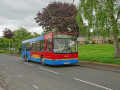 Go Northern 4855 / R855 PRG (TEN6083) Tags: ovington jubileeroad renown wright b10ble volvo r855prg 4855 nnrg northernnationalrestorationgroup bus nebuses