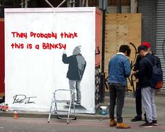 Shoreditch Street Art (scats21) Tags: banksy plasticjesus streetart shoreditch graffiti london street photography uk