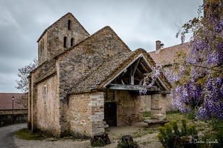 Eglise Saint-Pierre - Hameau Besanceuil à Bonnay (71)