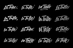 "Variations on the words ""La Talle"" 01."