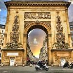 Paris  France ~  Porte Saint-Denis  ~ Historic Monument thumbnail