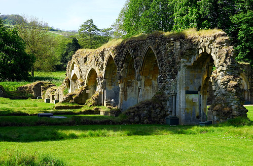 Arches at Hailes Abbey