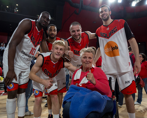 Equipe - ©ChristelleGouttefarde  09 Mai 2017 - Montée 32ème Journée Championnat Pro B JL Bourg-Denain   ©ChristelleGouttefarde