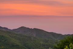 Imaginary sea  N.1 (Marco Tiano) Tags: sea mare illusion colors sunset mountains sky clouds red orange italia calabria spring 2017