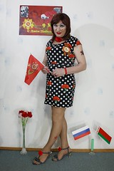 Victory Day 2017 (Julia Sweet) Tags: tranny transvestite tv cd crossdress crossdresser crossdressing transgender transexual trans trannyboy sissyboy sissy slut young feminization sex change transvesite queer girlboy cdtv tgirl tgirls uk ts t girlz shemale sheboy gaysissy maid feminine males girlyboy girlyboys sexy boygirl sissyfication feminisation nylons stockings pantyhose high heels stilettos fetish fetisch bizarre kinky doll mini lady