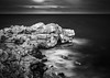 Sleeping Dragon edit (Murdoch333) Tags: sea rocks longexposure weldingglass seascape landscape tones monotone blackandwhite