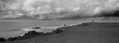 The Storms Off Point Cabrillo (LowerDarnley) Tags: hasselblad xpan panorama 35mmfilm mendocino california pointcabrillo storms ocean cliffs clouds sky