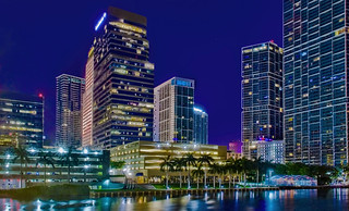 Brickell Financial District, City of Miami, Miami-Dade County, Florida, USA