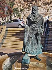 Almería 14 Jairan al Amiri Primer rey de Almería (ferlomu) Tags: almeria andalucia escultura estatua ferlomu