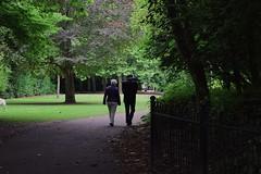 love is forever (camillaanselmi) Tags: love loving dublin grandfather grandmother old people albertpark couple walk streeth photography cute irish boy girl summer sunny day nikon