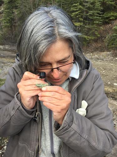 Geologist Danièle Héon