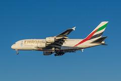 Airbus A380-861 - Emirates Airline A6-EDS - AMS/EHAM Amsterdam Airport (Schiphol) (Frans Berkelaar) Tags: oudemeer noordholland nederland nl ams schiphol amsterdamairport aalsmeerderdijk aalsmeerderbrug eham vliegtuig airplane flugzeug avion avión aalsmeerbaan 18l36r airbus airbusa380 airbusa380861 emiratesairline a6eds olympusm40150mmf28 haarlemmermeer