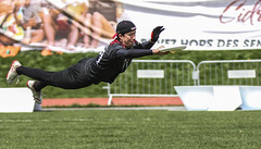 Toronto Rush vs Montreal Royal (Danny VB) Tags: dive diving sport sports ultimate frisbee ultimatefrisbee montrealroyal montreal royal toronto crush torontocrush summer canon 7d dannyboy photo photography