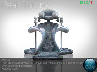 *The Cove* Pearl Throne