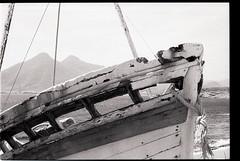 Cabodegata11 (liliaanaramosmartín) Tags: vessel film monochrome kodak almería cabodegata