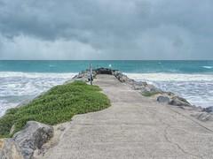 Perth Beach (sander_sloots) Tags: perth beach winter sea indian ocean indische oceaan zee pier dam strand waves golven