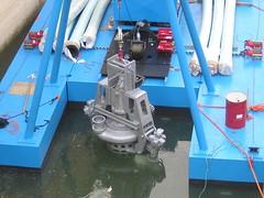 Дноуглубительные работы сборно-разборным земснарядом DRAGFLOW на глубинах 40 метров.Дноуглубительные работы сборно-разборным земснарядом DRAGFLOW на глубинах 40 метров.