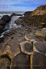 Land of the Giants (pdxsafariguy) Tags: ireland northernireland antrim giantscauseway nature coast ocean rock sea basalt travel europe geology hexagonal clouds water unesco tomschwabel