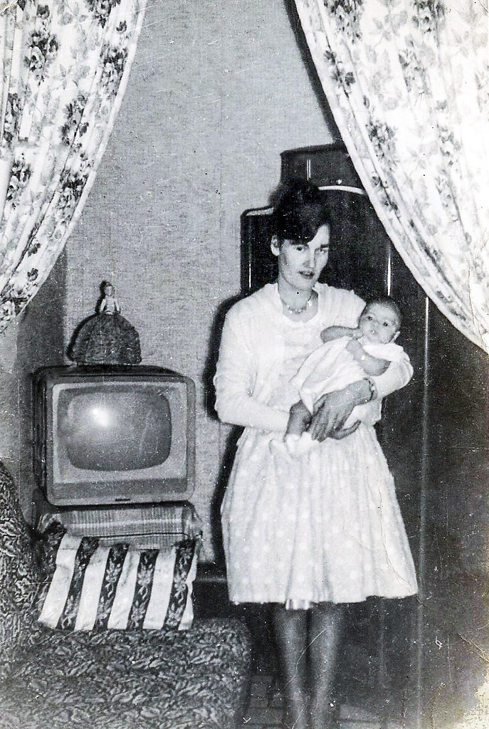 Agnes Shields with Daughter Marie 1950s