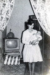 Image titled Agnes Shields with Daughter Marie 1950s