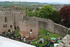 The Inner Bailey (Badly Drawn Dad) Tags: gbr ludlow shropshire unitedkingdom ludlowcastle ludlowspringfestival geo:lat=5236723398 geo:lon=272365100 geotagged fromthetower highview viewfrom
