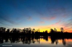 Sunset on the waters (JSB PHOTOGRAPHS) Tags: dsc3231 sunset nikon d7000 pond water trees sky color reflections recreation tokina 1116mm