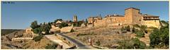 Panorámica de la villa medieval de Pedraza (Segovia) (Jose Manuel Cano) Tags: medieval pedraza segovia villa village ancient españa spain nikond5100