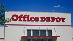 Office Depot (Crawford Brian) Tags: officedepot store bigbox retail sign berwyn illinois usa midwest red blue canopy window buidling suburban
