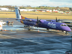 Edinburgh Airport (DarloRich2009) Tags: gjedu flybe dehavillandcanada dhc8 dash8 flybedehavillandcanadadhc8dash8 dehavillanddhc8 dehavillanddash8 flybegroupplc flybegroup dehavillandcanadadhc8dash8 bombardierdash8 qseries bombardieraerospace bombardier edinburghairport edinburgh cityofedinburgh dùnèideann thecityofedinburghcouncil scotland uk unitedkingdom ingliston turnhouseaerodrome turnhouse