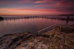 Maroubra Sunrise 2 (RoosterMan64) Tags: clouds colour longexposure mahonpool maroubra nsw rockpool rockshelf rocks seascape sunrise sydney