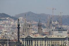Barcelona, Spain (Jwaan) Tags: barcelona spain city rooftops gaussianblur tiltshift lasagradafamilia