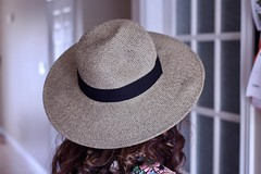The Hat (Haytham M.) Tags: elegance fashion texture fabric ribbon hat