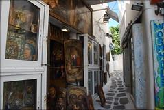 Mikonos (Grecia, 14-6-2017) (Juanje Orío) Tags: mikonos greece grecia 2017 pintura arte art