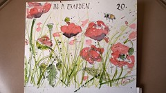 EDM 2017. Day 20. Something in a garden or in a park. (couleur.indigo) Tags: carnet croquis aquarelle feutre