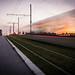 #20/52 Lignes (anneso duchemin) Tags: 52project longexposure poselongue sunset lehavre projet52