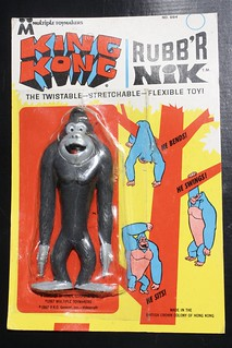 King Kong Rubb'r Nik (Multiple Toymakers 1967)