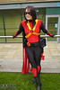 IMG_5721.jpg (Neil Keogh Photography) Tags: hero dickgrayson baton dc robe boots bulletbelt gold pants dccomics comics red female utilitybelt new52 cloak jumpsuit top mask batman cosplay redrobin black bullets cosplayer yellow bat robin