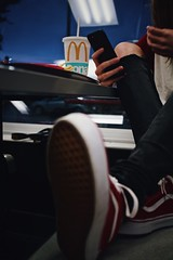 June 28th, 2017 » These shots had no business turning out as perfect as they did. These were taken in a McDonald's on the sketchy part of town, and yet I still swoon as I scroll through. Just how (Human Visuals) Tags: moody atmospheric oddlysatisfying mcdonalds mcdons fries 50mm 14 24mm 28 cinematic vignette bold grunge redandwhite food morefriespls femalemodel emotrash lesbianoscarnominee horseriderjunkienikondoublerainbow phew