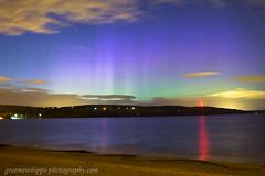 Chanonry rays (quayman) Tags: aurora northernlights merrydancers twilight rays night sky chanonry blackisle highland scotland