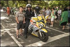 Benjamin wants to join Police Motor Cycle group= (Sheba_Also 11.8 Millon Views) Tags: benjamin wants join police motor cycle group