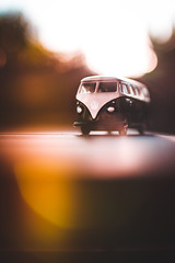 Happy Miniature Monday (thethomsn) Tags: miniaturemonday vwbus flare bokeh dof car toy moody colour backlight fade