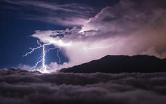 A Thunder Night (Victor Poon) Tags: thunder cloud taiwan taichung mountain hehuanshan 合歡山 cloudscapes