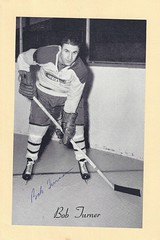 1944-63 NHL Beehive Hockey Photo / Group II - BOB TURNER (Defence) (b. 31 Jan 1934 - d. 7 Feb 2005 at age 71) - Autographed Hockey Card (Montreal Canadiens) (#292) (Baseball Autographs Football Coins) Tags: hockey beehive 1934 1967 19341967 groupi groupii groupiii woodgrain torontomapleleafs bostonbruins newyorkrangers montrealcanadiens chicagoblackhawks detroitredwings montrealmaroons newyorkamericans card photos hockeycards brooklynamericans nationalhockeyleague nhl bobturner defence defense