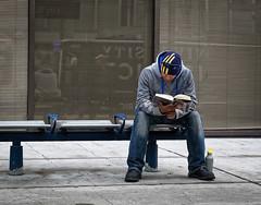 Reading Star Wars (Jacques P Raymond) Tags: comiccon starwars book reading trainstation lrt