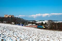 1047 006 (gerhard.1962) Tags: neulengbach altewestbahn rollendelandstrase güterzug mav 1047 1047006 hofstatt niederösterreich freighttrain november firstsnow nikon nikondd90 d90