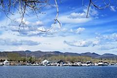 The Marina (Patricia Henschen) Tags: chatfieldstatepark chatfield littleton colorado clouds wetland mountain mountains rampart range reservoir lake marina