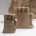 Locri, Grotta Caruso: miniature terracotta three-headed herms with river gods
