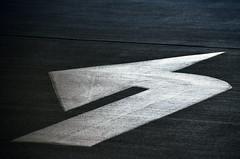 Left (James_D_Images) Tags: sign left parkade concrete direction abstract